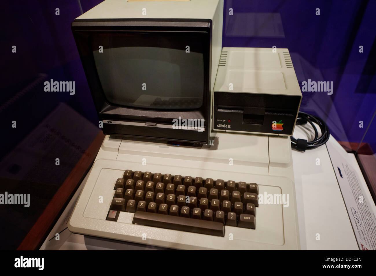 Apple II computer Stockbild