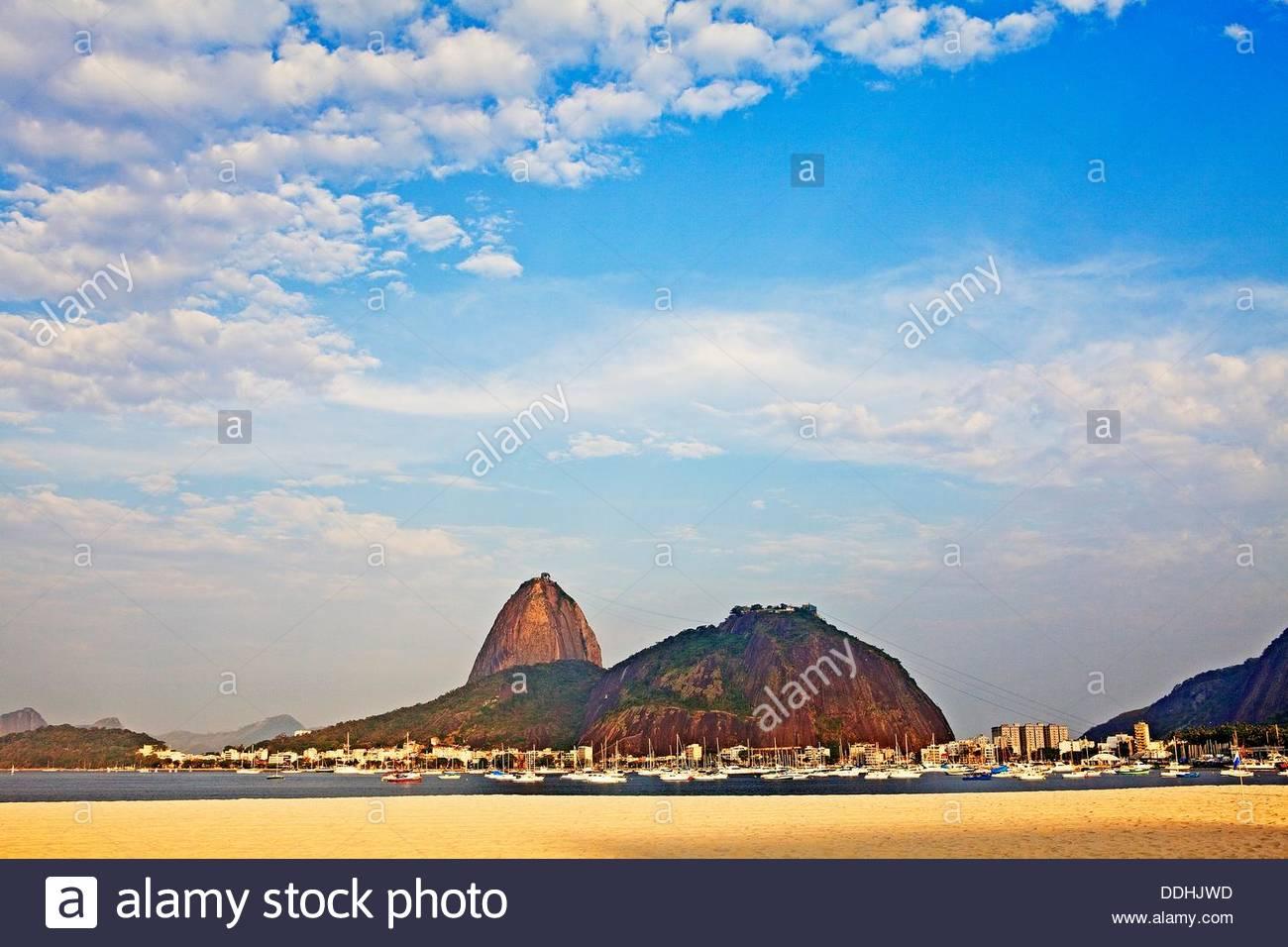 Brasilien, Rio De Janeiro Botafogo, Blick auf Zuckerhut Stockfoto, Bild: 60009641 - Alamy