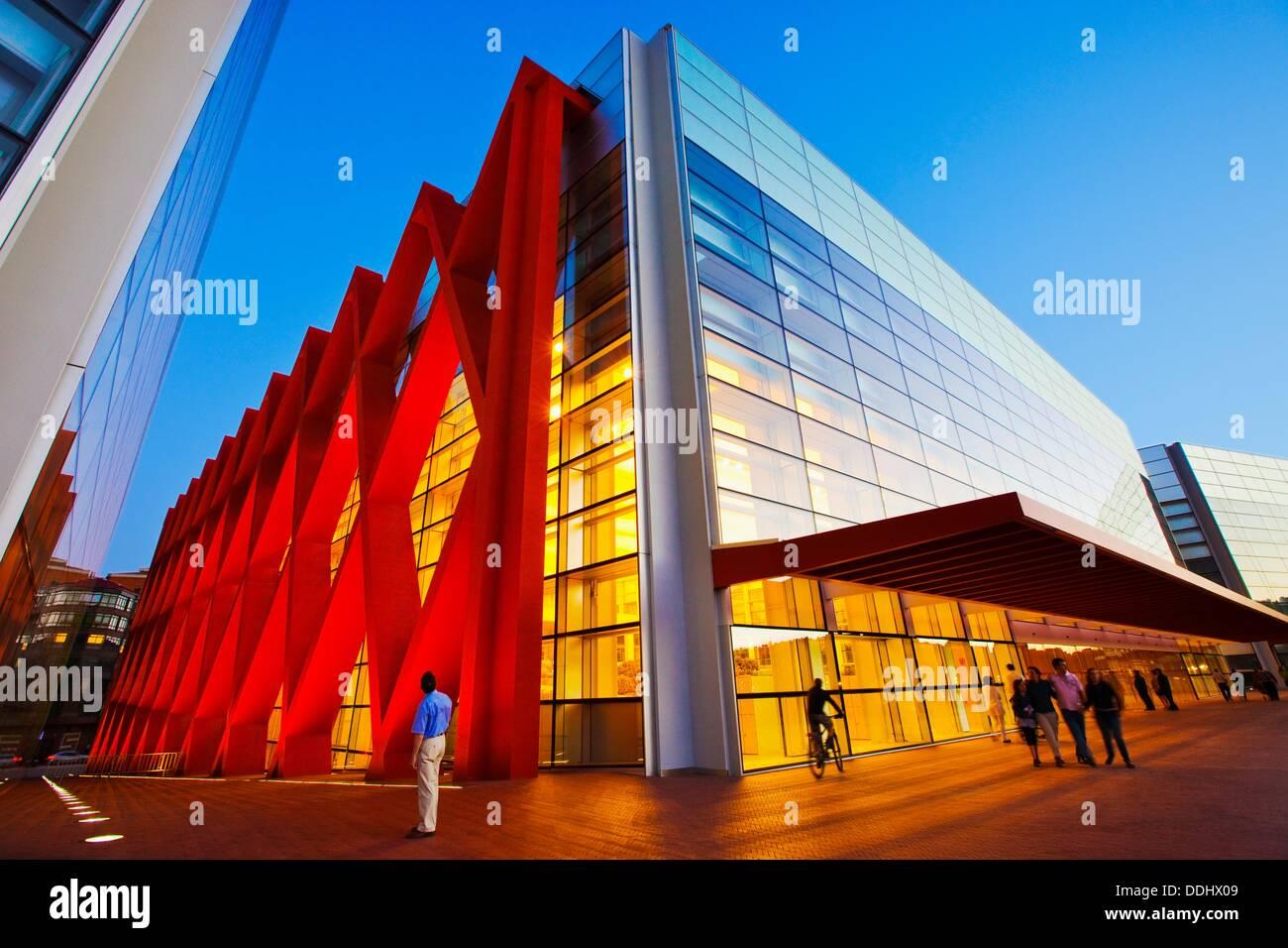 Museum der menschlichen Evolution. Burgos. Kastilien-León. Spanien. Stockfoto