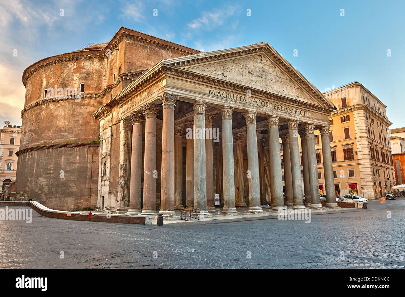 Pantheon in Rom, Italien Stockbild