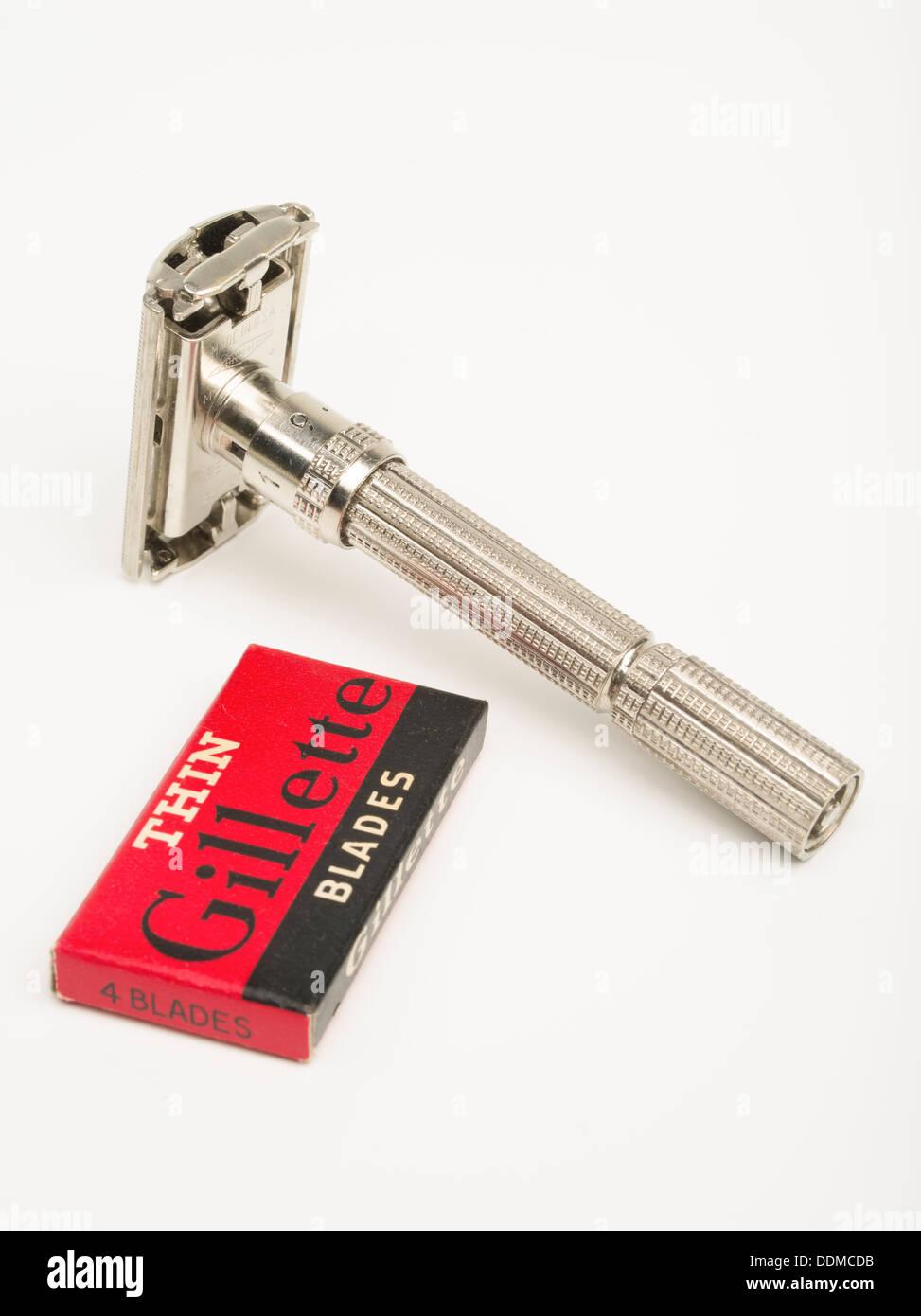 Gillette verstellbare Sicherheits-Rasierdatierung