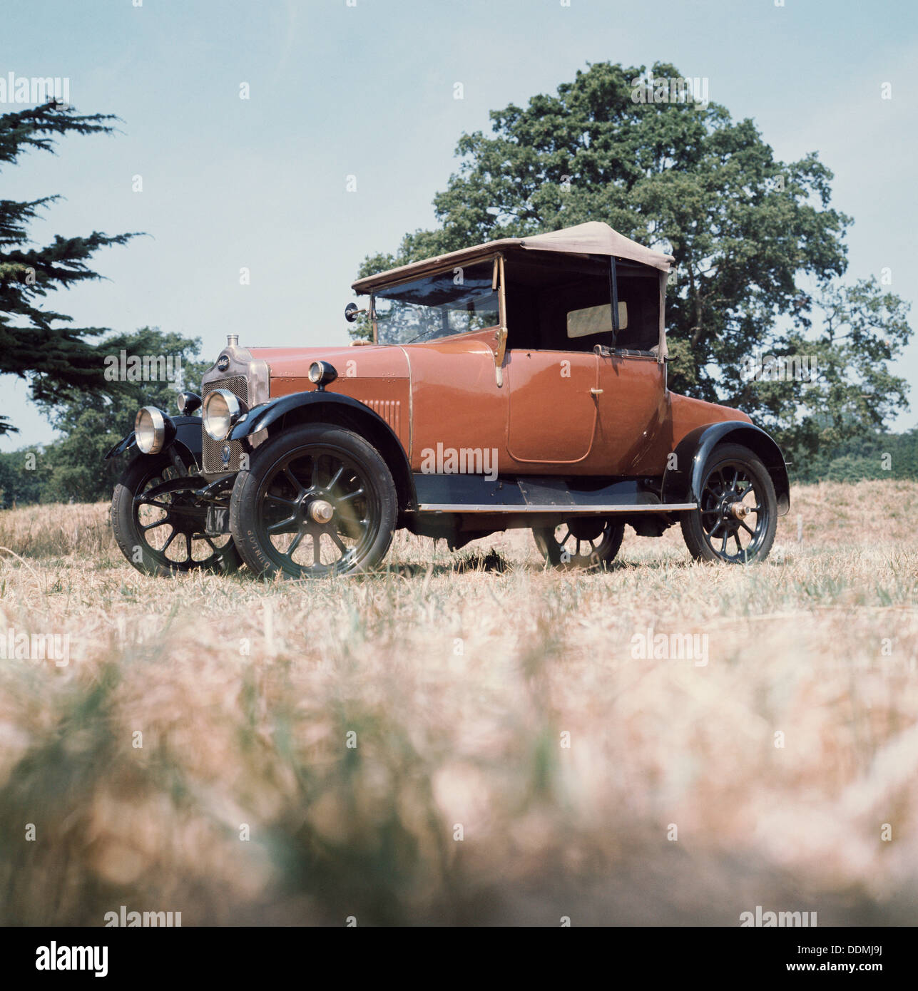 1923 Calcott 11.9hp Auto. Stockbild