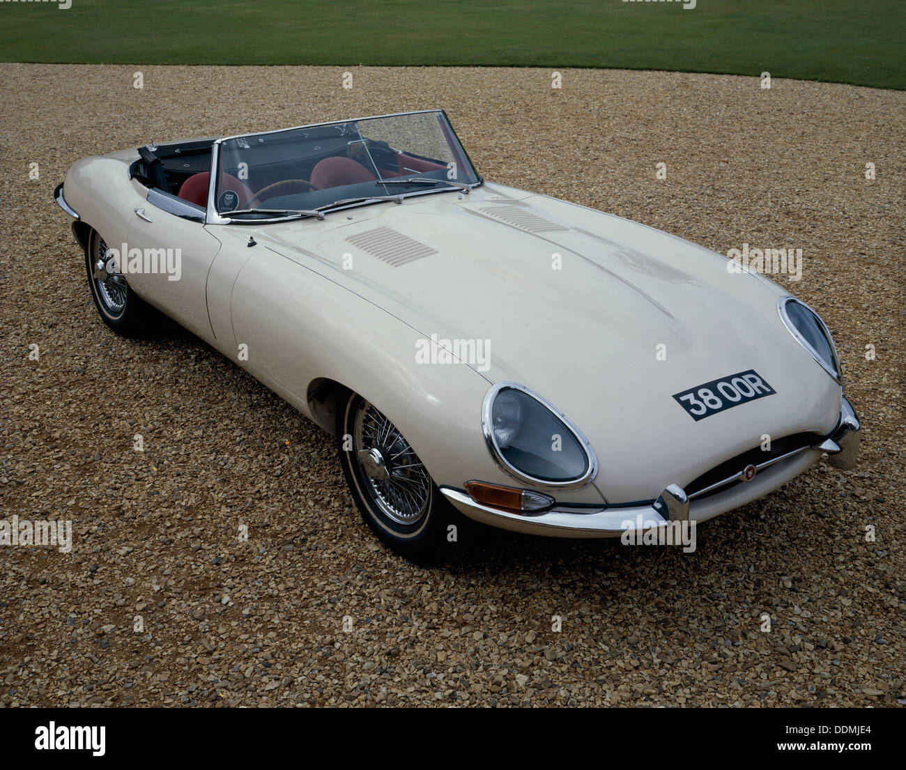 1962 Jaguar E-Type 3,8. Stockbild