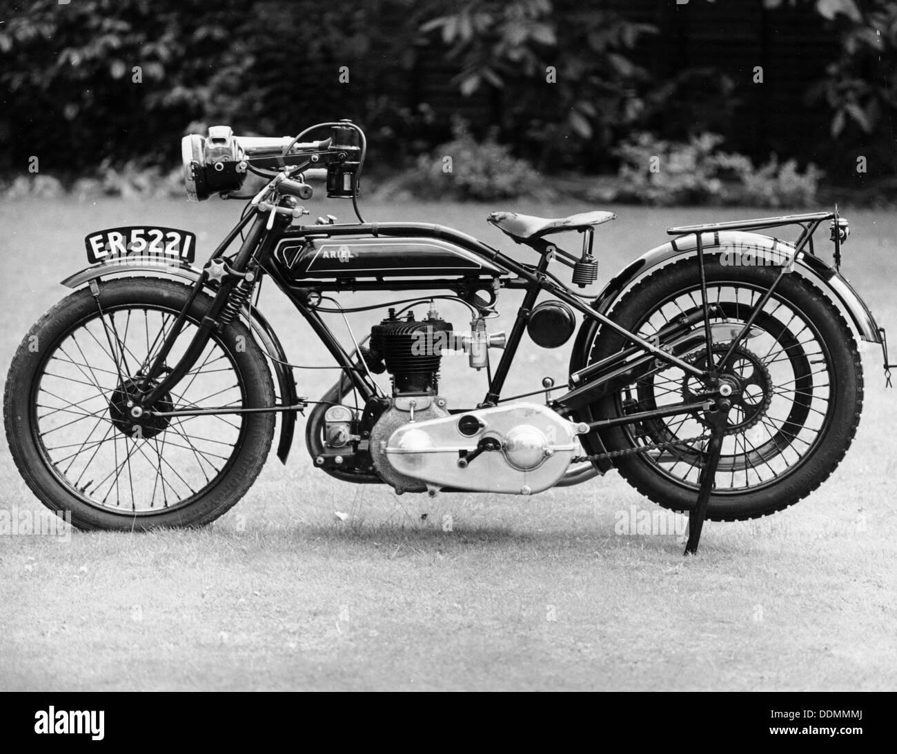 1926 Ariel Motorrad. Artist: Unbekannt Stockfoto