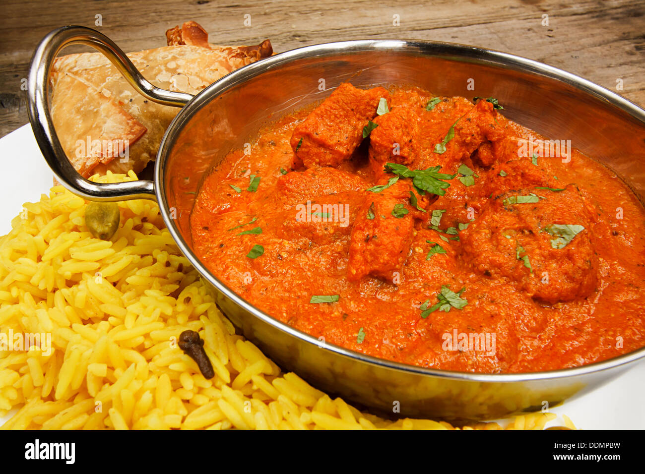 chicken tikka masala ein beliebtes indisches curry als. Black Bedroom Furniture Sets. Home Design Ideas