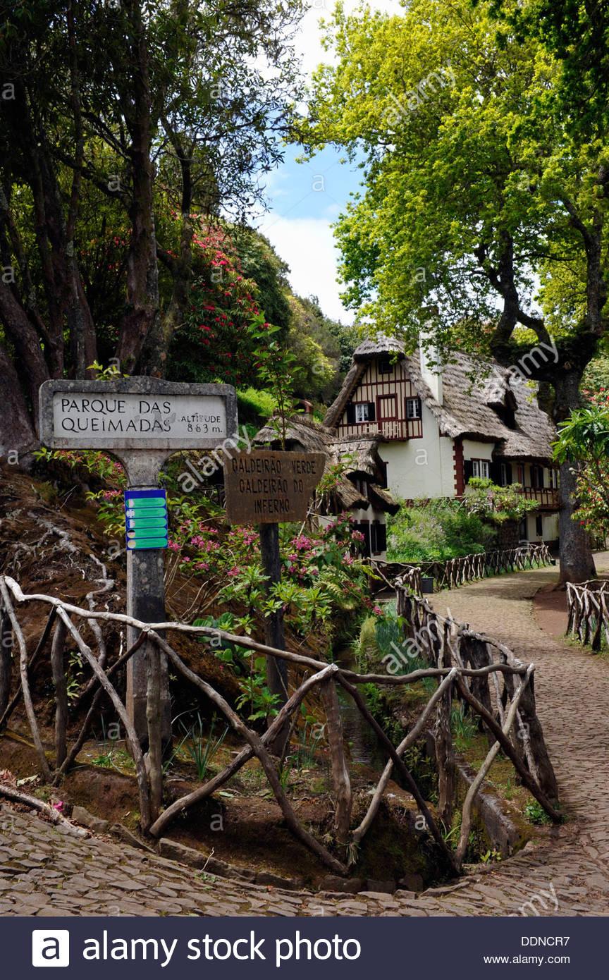 Förster Haus und Rhododendron Park Queimadas Madeira