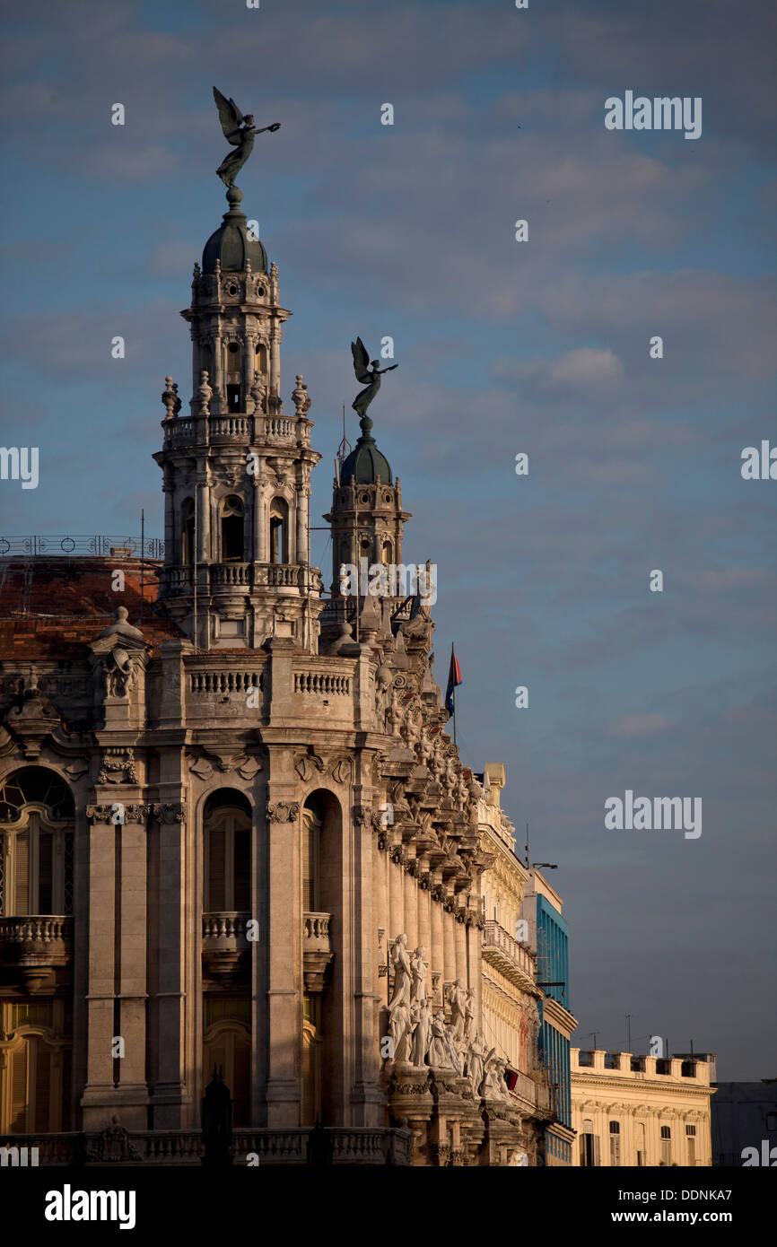 Theater Gran Teatro De La Habana in Havanna, Kuba, Karibik | Das Theater Gran Teatro De La Habana in Havanna, Kuba, Stockbild