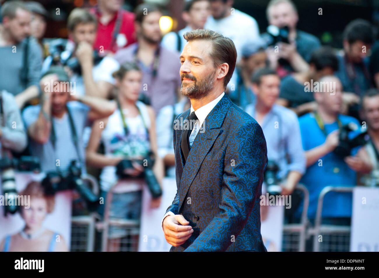 London, UK - 5. September 2013: Patrick Grant besucht die Diana-Welt-Premiere im Odeon-Kino am Leicester Square. Bildnachweis: Piero Cruciatti/Alamy Live-Nachrichten Stockbild