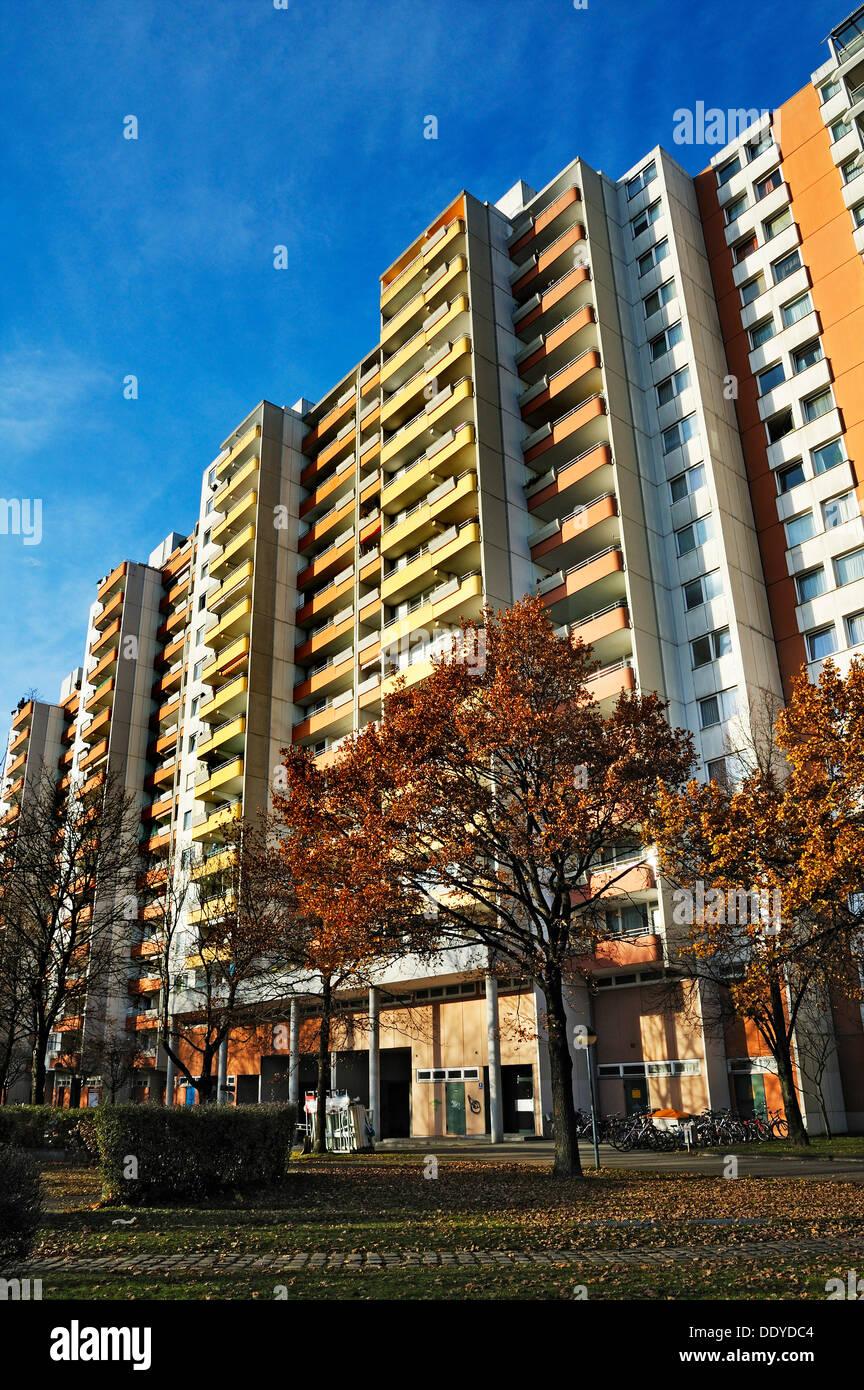 High Rise Wohnung Wohnhaus Aus Den Siebziger Jahren In Der