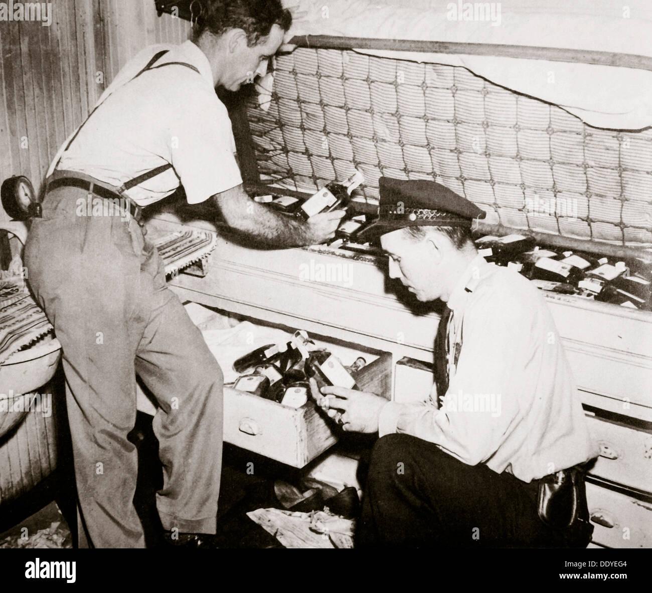 Verbot, Norfolk, Virginia, USA, Durchsetzung der 1920er Jahre. Künstler: unbekannt Stockbild
