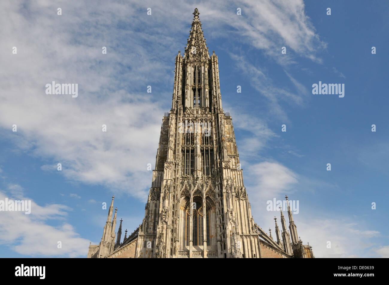 Ulmer Münster Kirche Ulmer Münster 16153 M Der Höchste Kirchturm