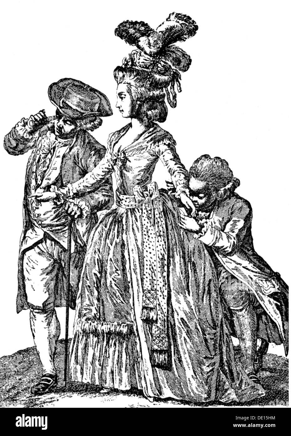18th century men fashion stockfotos 18th century men for Mode aus england