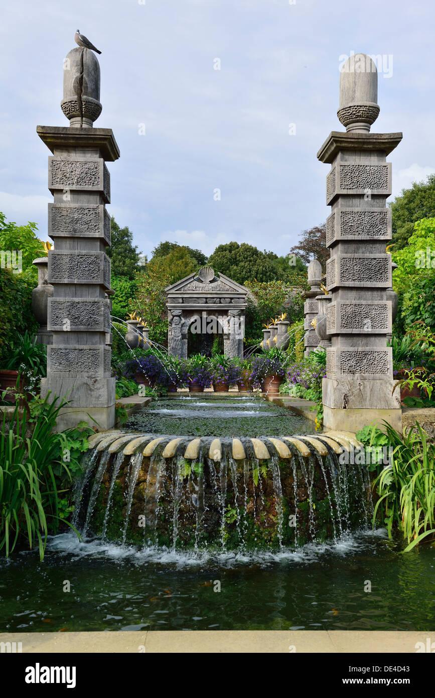 grafgarten, wasser-funktion führt zu pagoden und oberon von der sammler graf, Design ideen