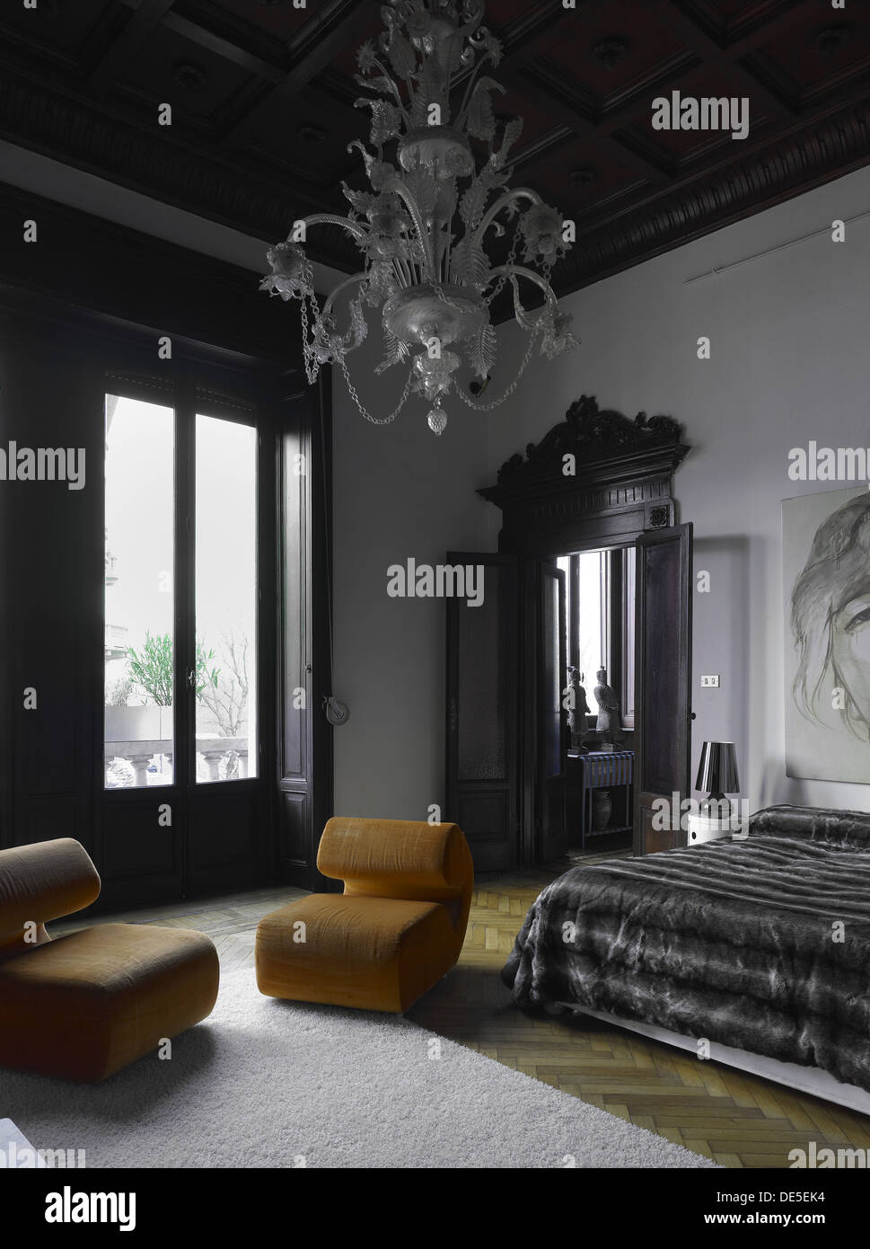 Elegante einzigartige Studio / Wohnzimmer / Schlafzimmer in ...