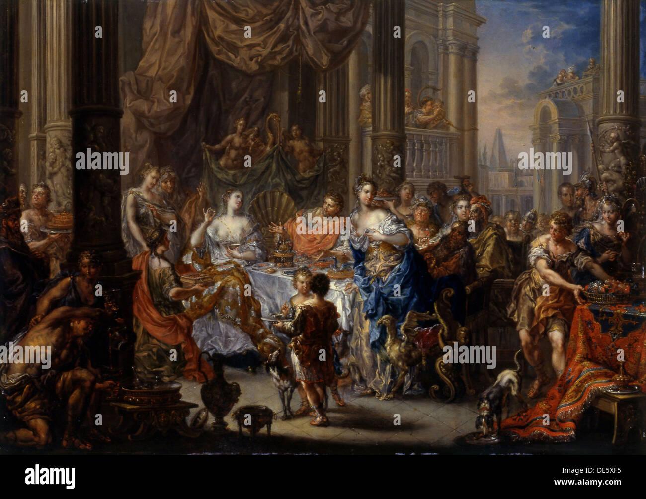 Queen Cleopatra Vii Of Egypt Stockfotos & Queen Cleopatra ...