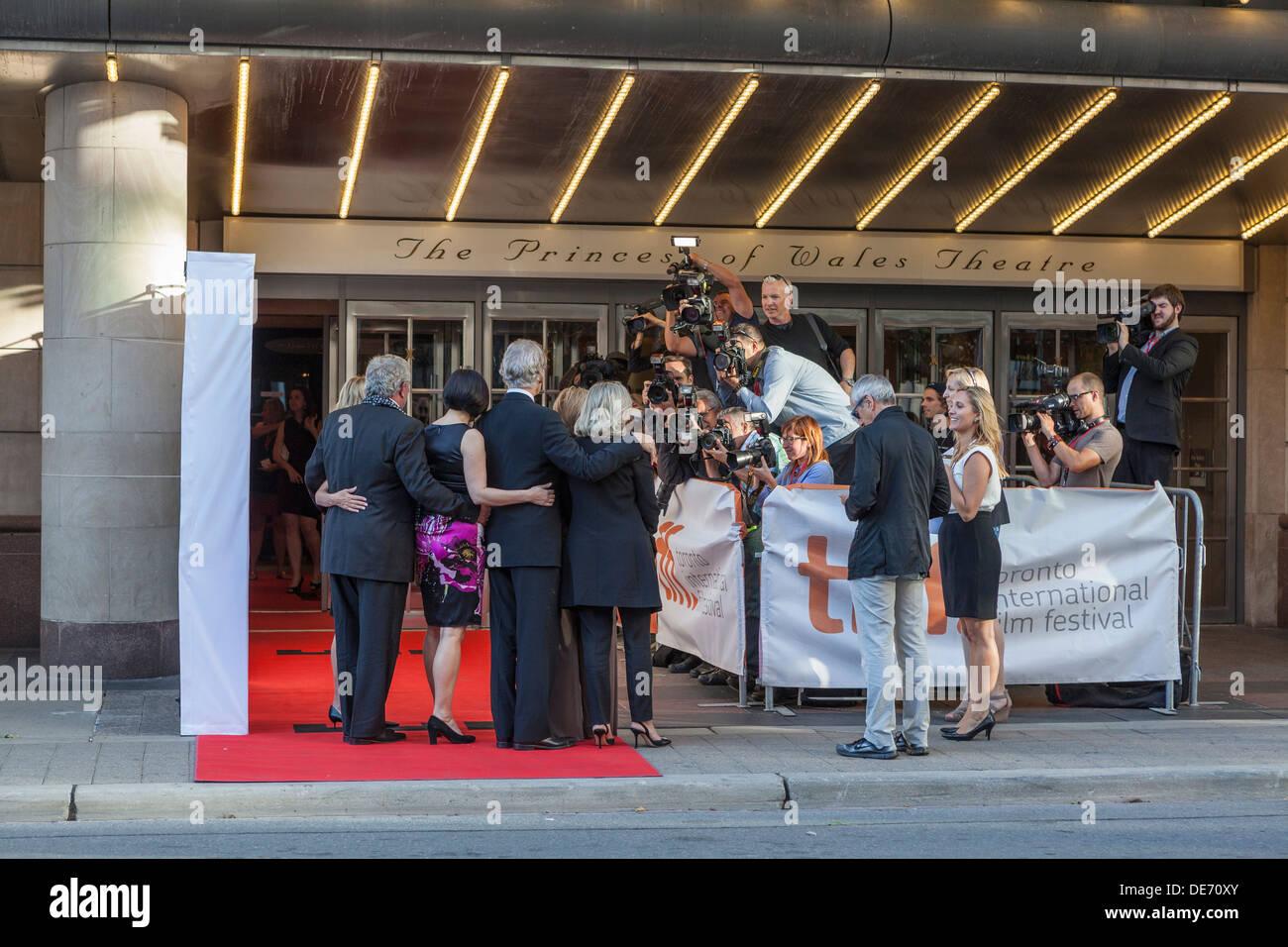 """Stars des Films """"der Big Chill"""" wieder zu vereinigen, anlässlich des 30. Jahrestages des Films 1983 - TIFF-Toronto Stockfoto"""