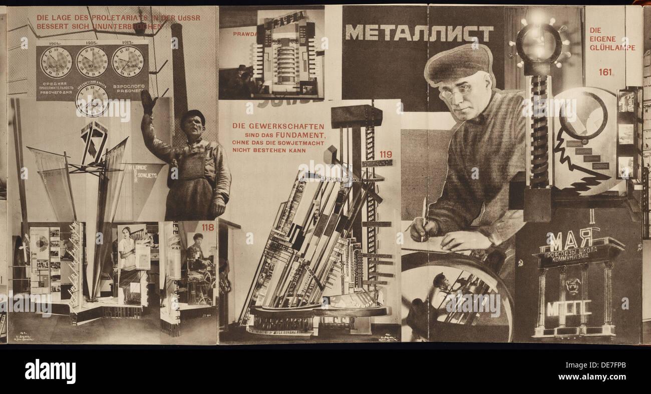 Udssr. katalog der sowjetischen pavillon auf der internationalen