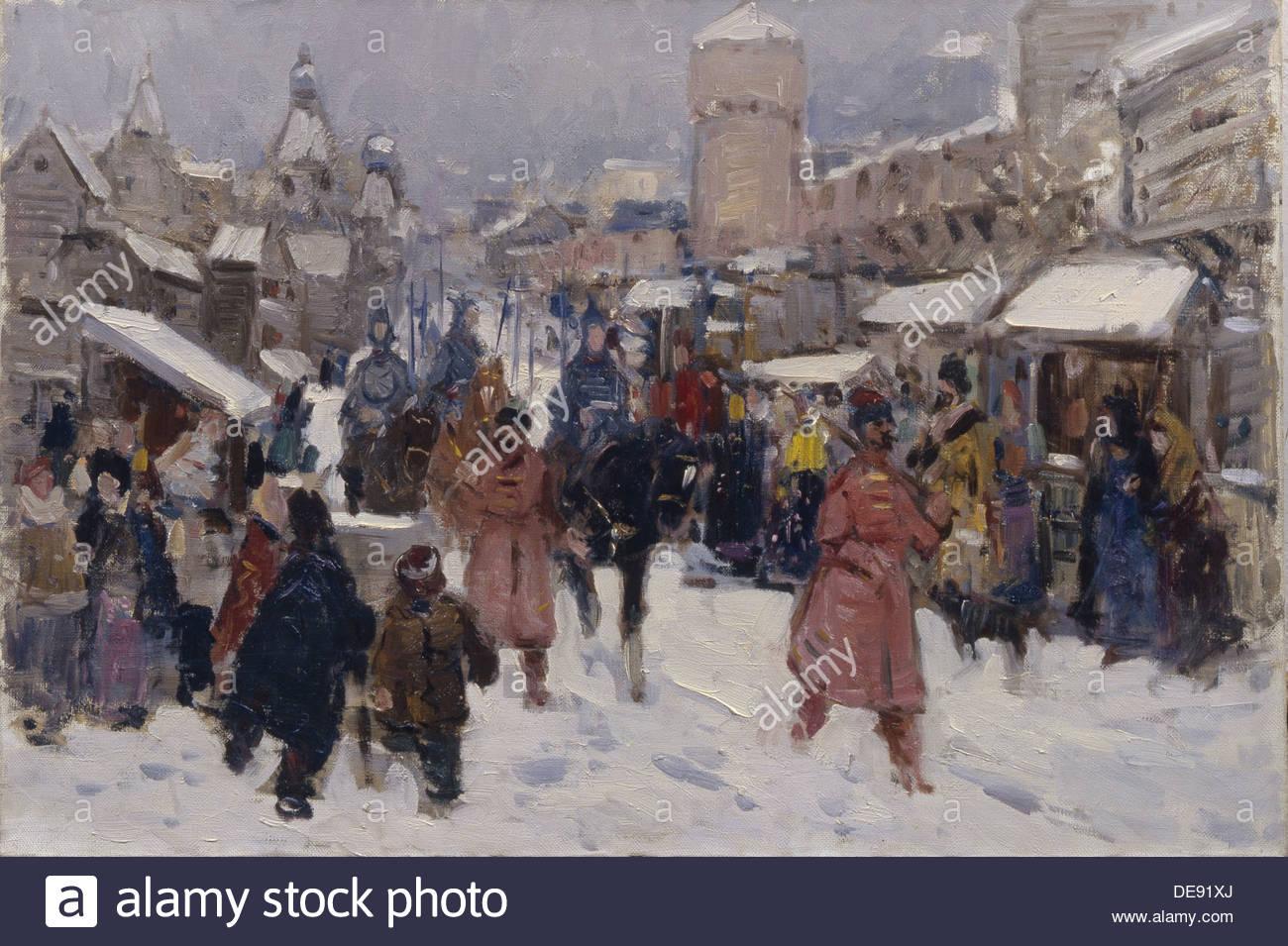 Die große Botschaft in Moskau, 1964. Künstler: Sundukov, Anatoly Michaylovich (1925-1989) Stockbild