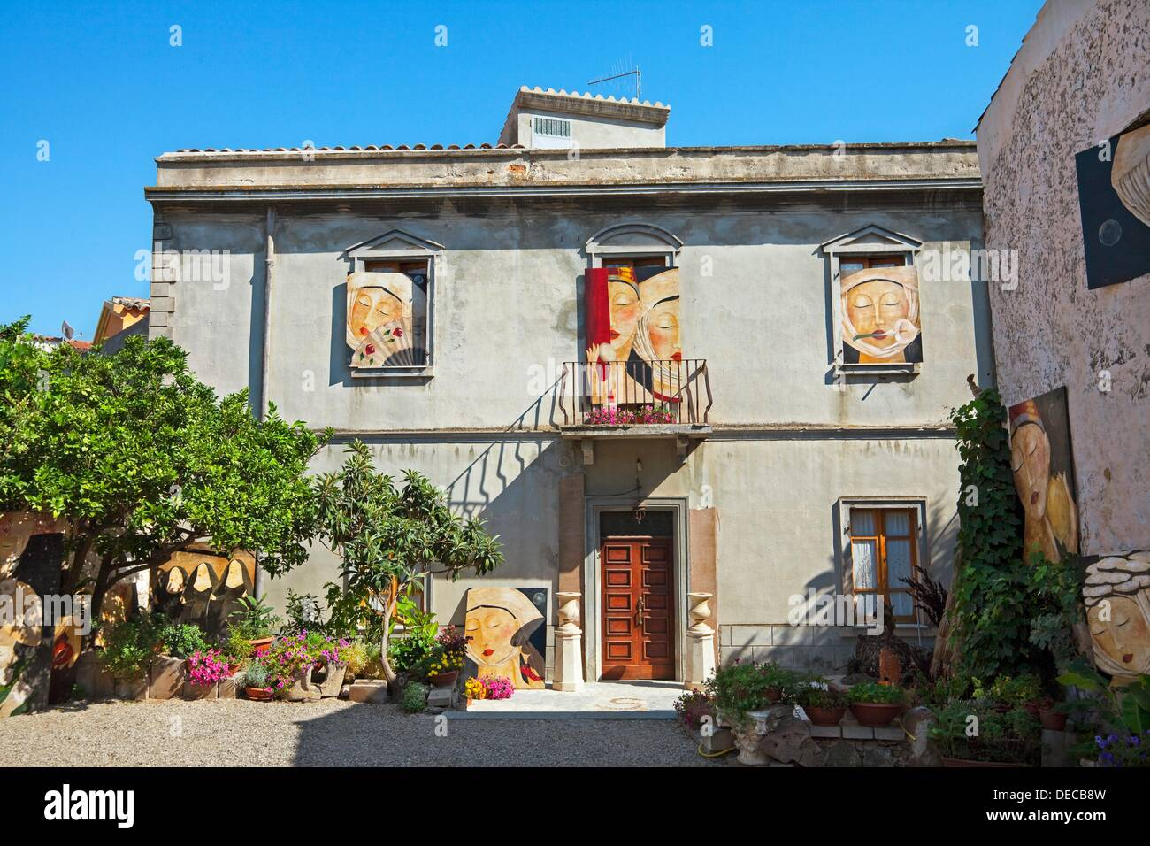 House orosei sardinia italy stockfotos house orosei for Haus sardinien