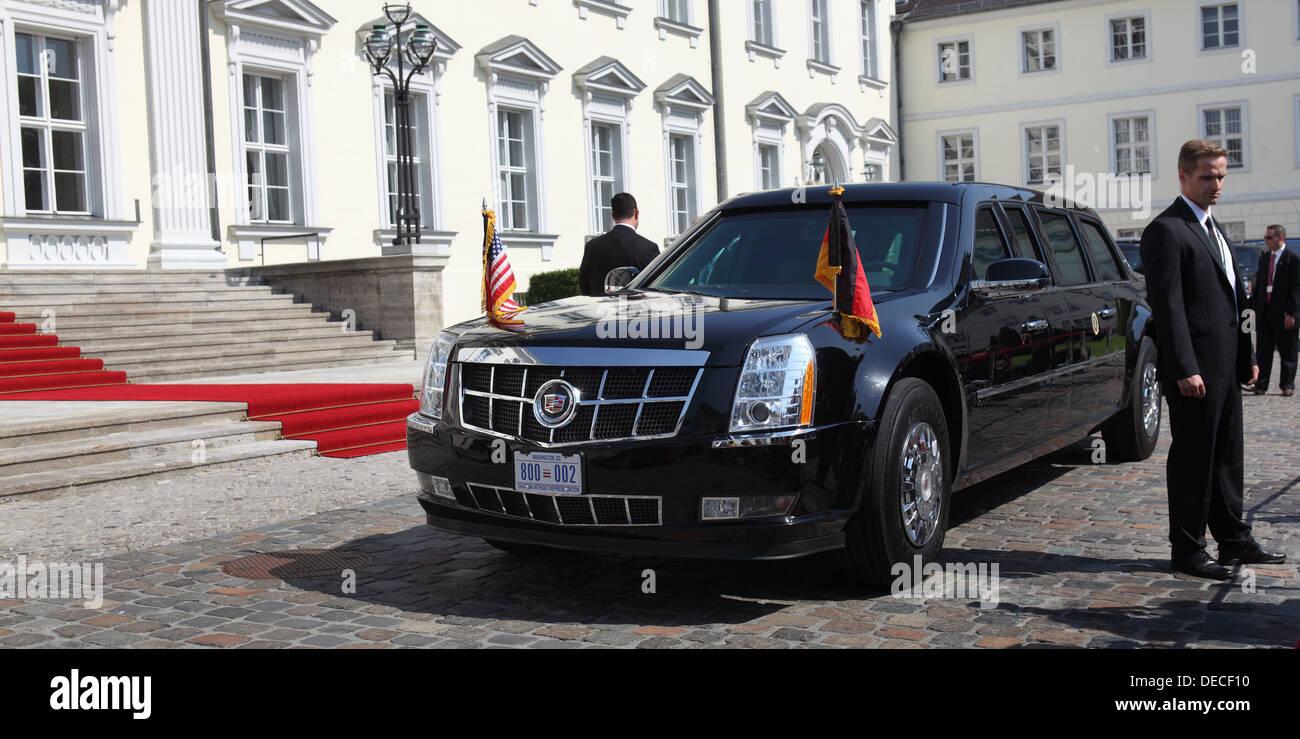 Berlin, Deutschland, das Auto, das Biest, der US-Präsident Stockfoto ...