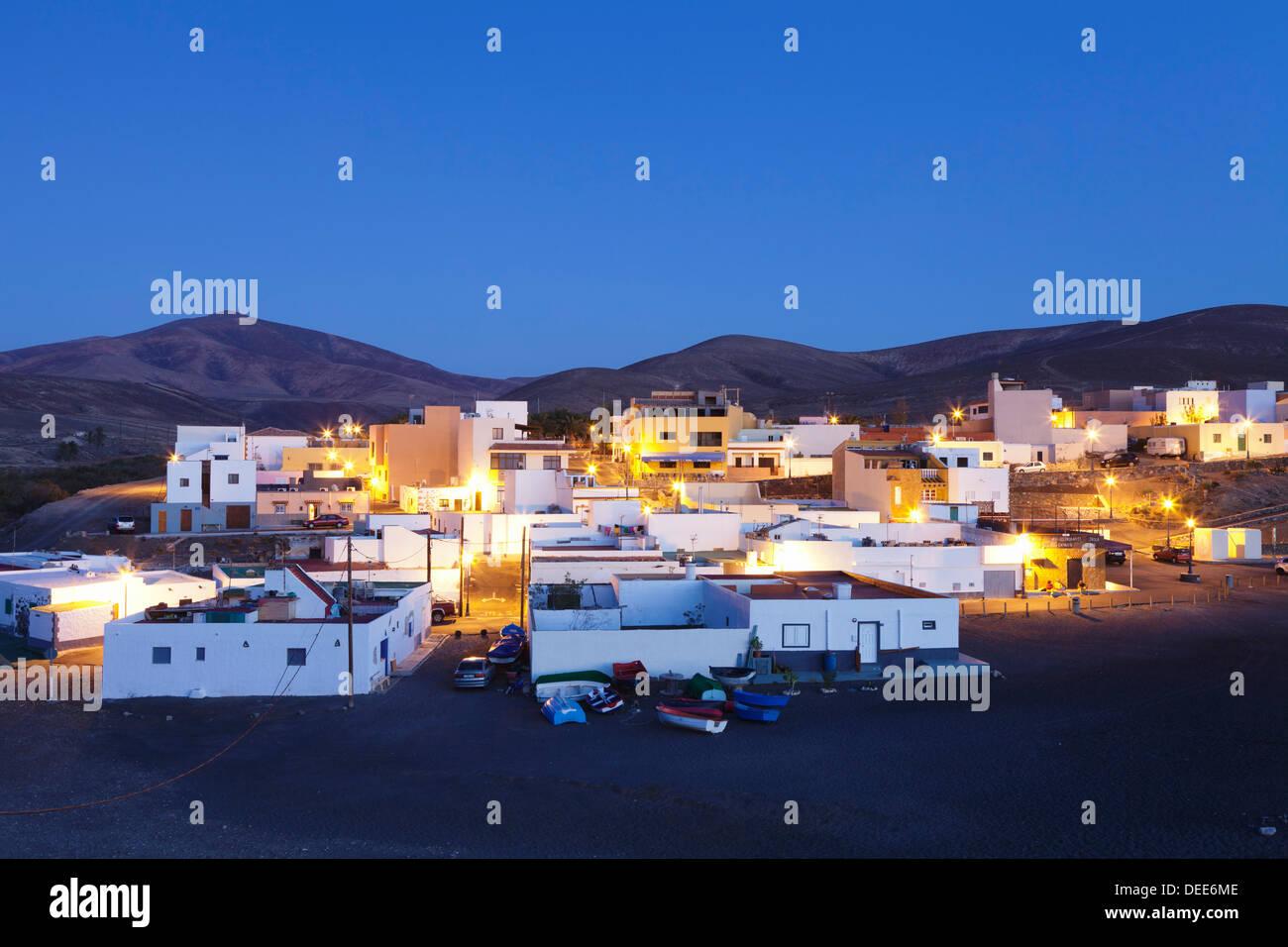 Ajuy, Fuerteventura, Kanarische Inseln, Spanien, Atlantik, Europa Stockbild