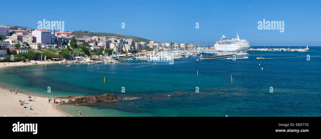 Propriano, Le Golfe de Valinco, Korsika, Frankreich, Mittelmeer, Europa Stockbild