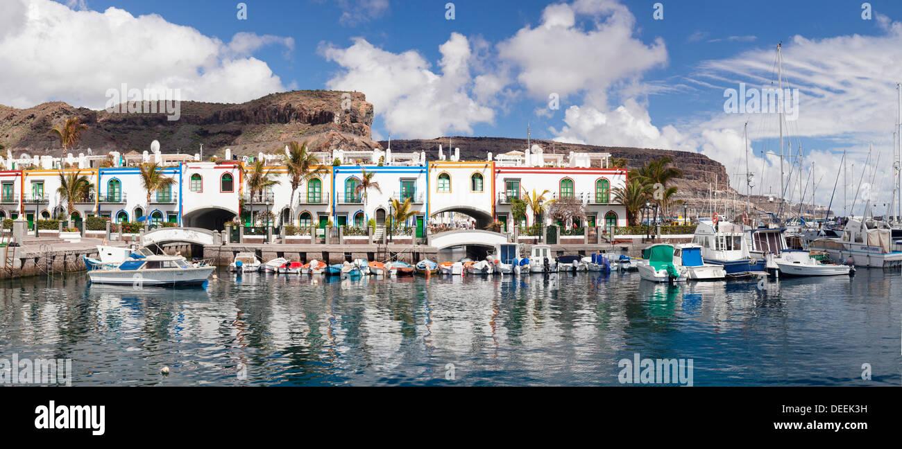 Puerto de Mogan, Gran Canaria, Kanarische Inseln, Spanien, Atlantik, Europa Stockbild
