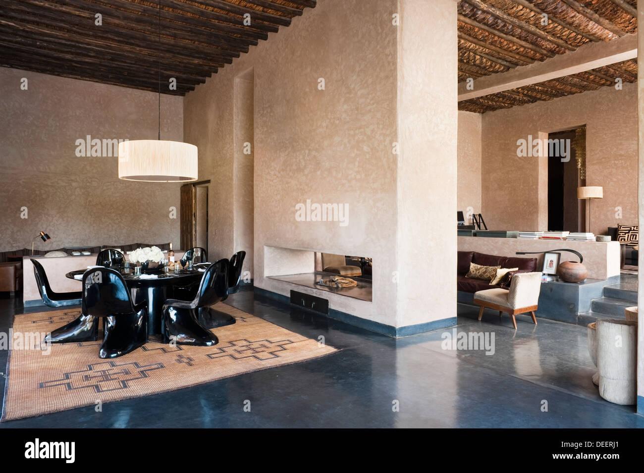 Offene marokkanischen Neubau mit Innenarchitektur Romain Michel ...
