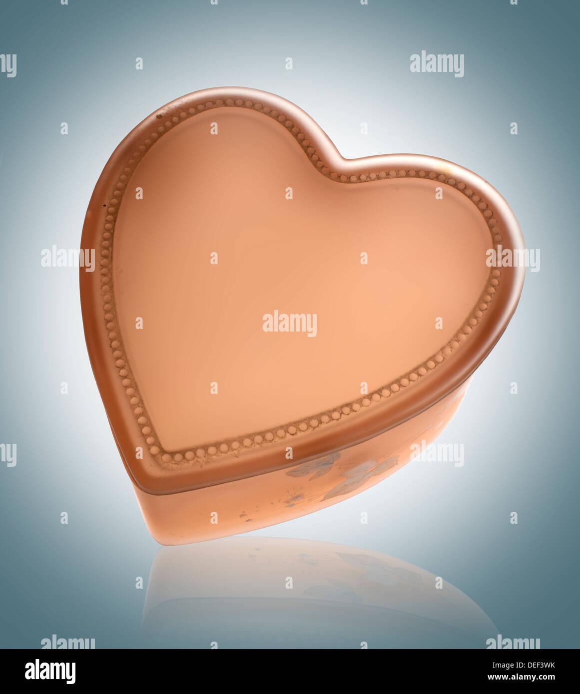 Herz-Valentinstag Stockbild