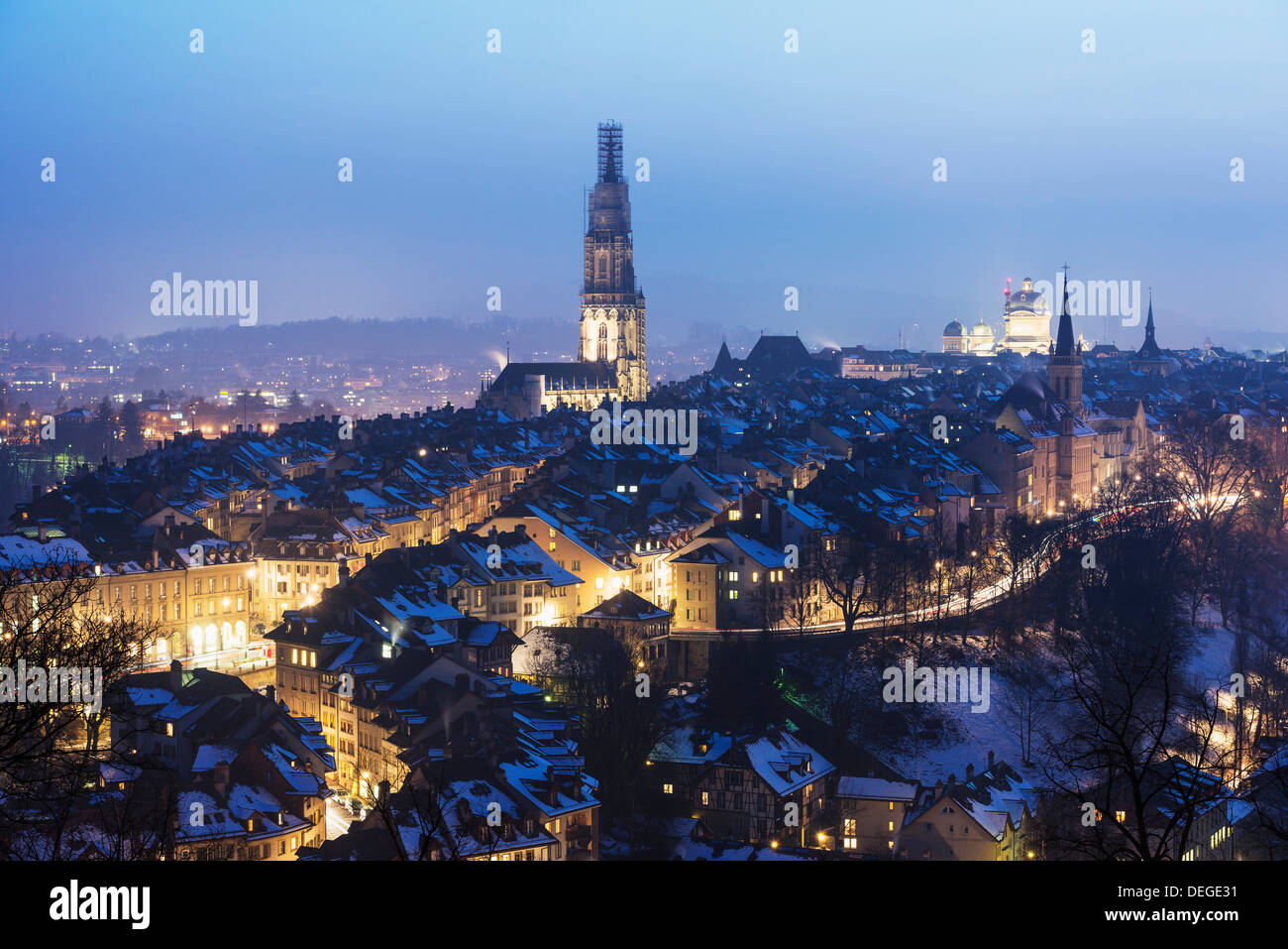 City View, Bern, Schweiz, Europa Stockbild