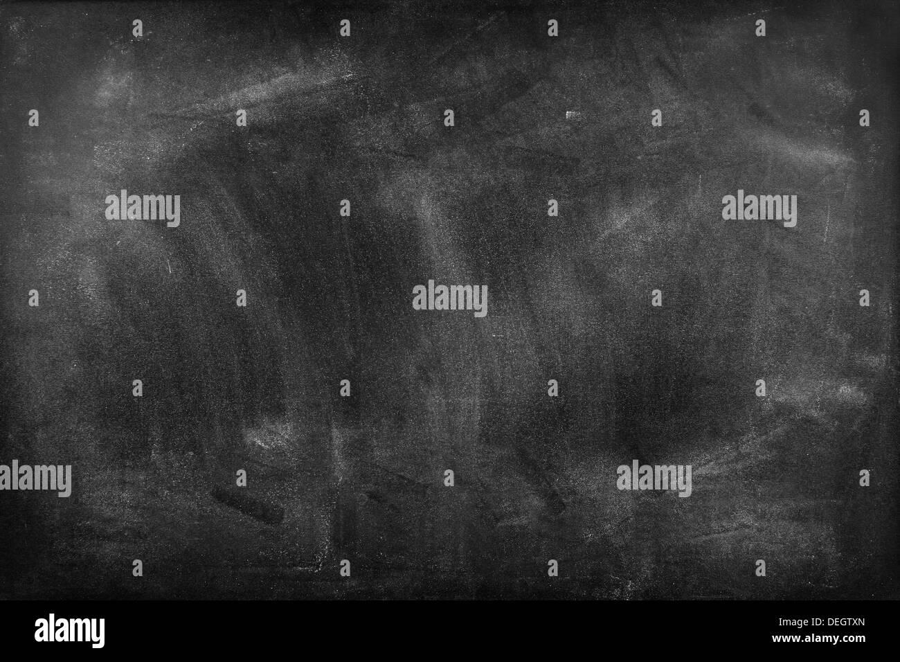 Kreide auf Tafel ausradiert Stockbild