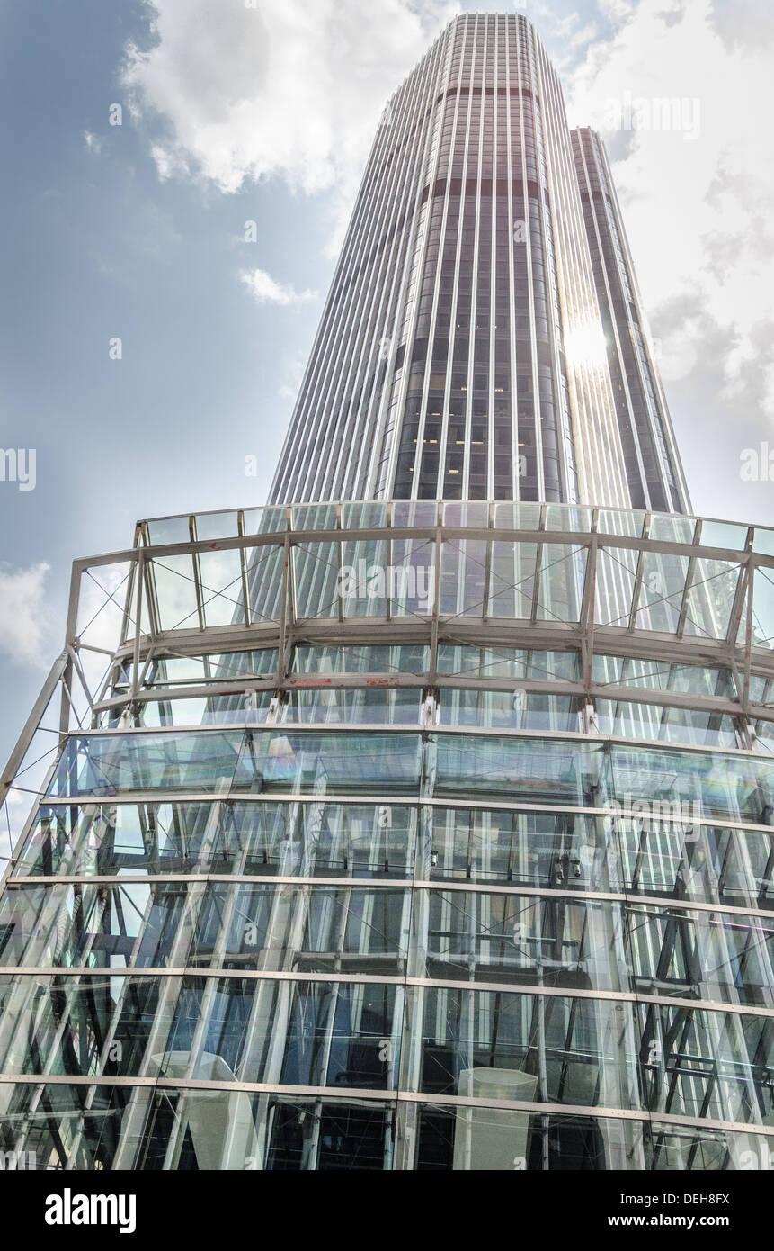 Vertigo 42, Tower 42 internationales Finanzzentrum, 25 Old Broad Street, London EC2N 1H Stockbild