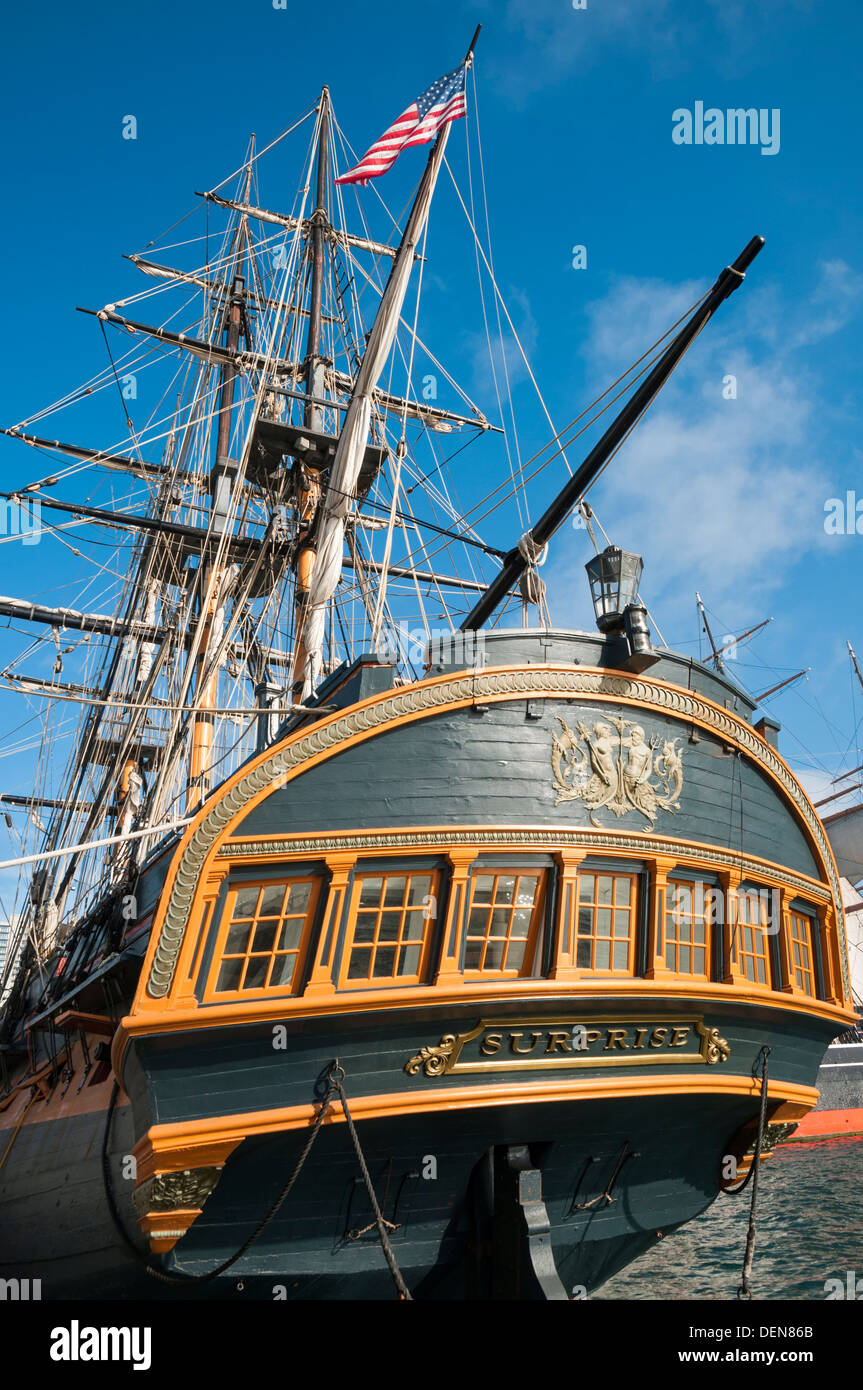 Maritime Bilder hms replica ship maritime stockfotos hms replica