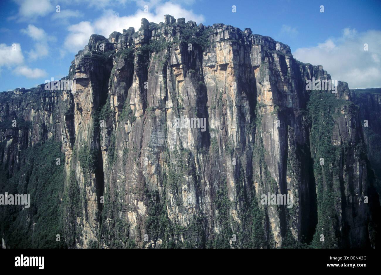 Auyan Tepui Berge Canaima Nationalpark Venezuela Stockfoto Bild