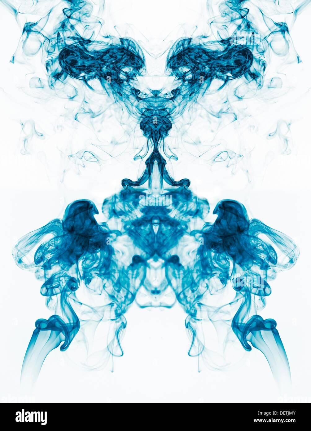 Konzeptbild einzigartig geformten vertikale Symmetrie Stockbild