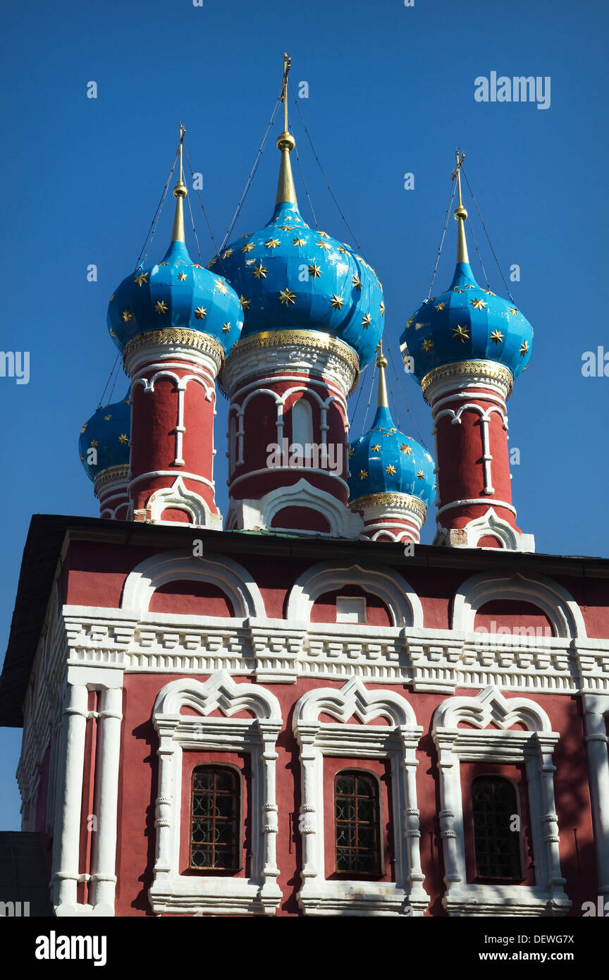 Kirche von St. Demetrios auf das Blut, Uglitsch. Goldener Ring, Russland Stockbild