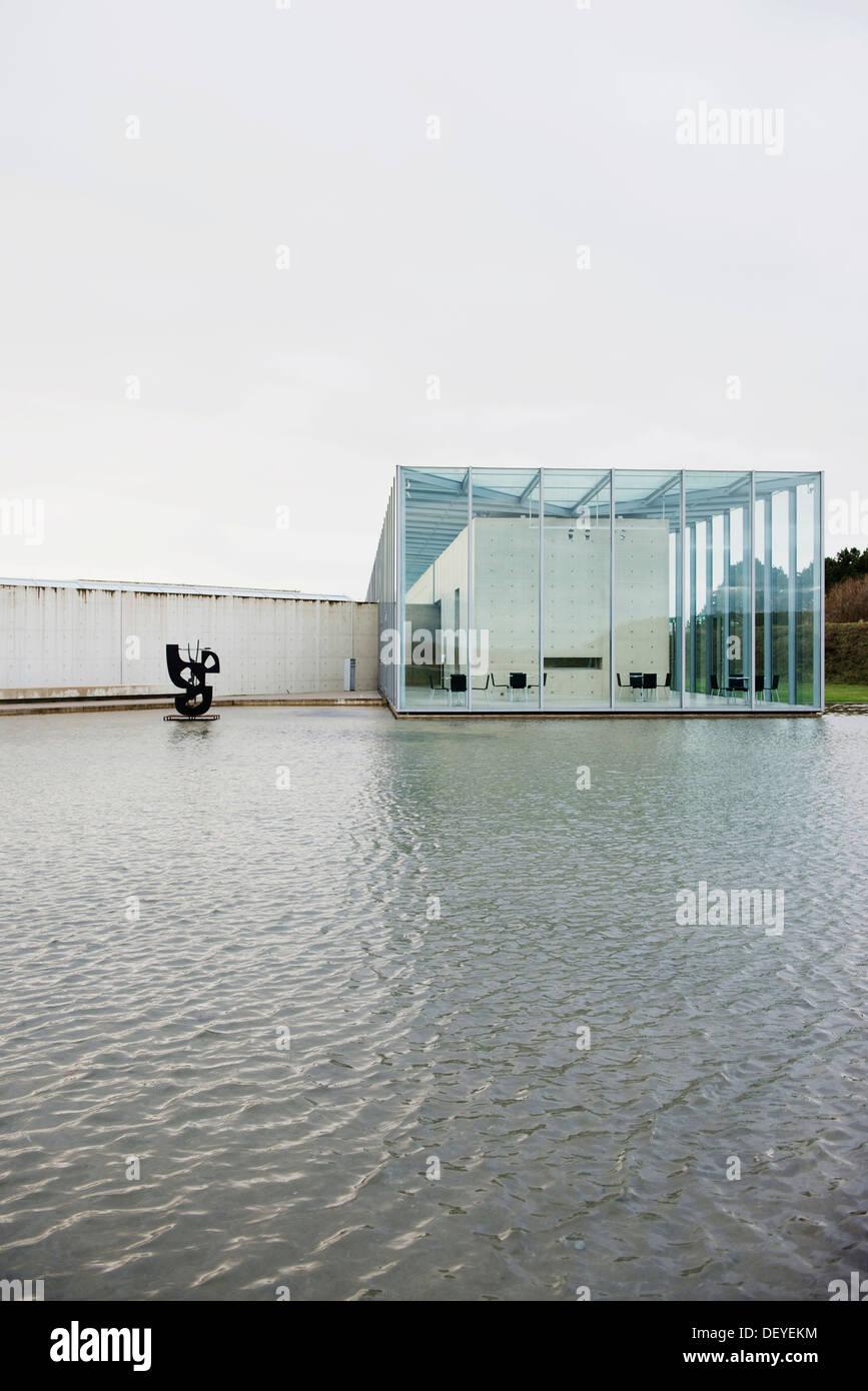 Langen Foundation Kunstmuseum Und Stiftung Auf Dem Gelande Einer