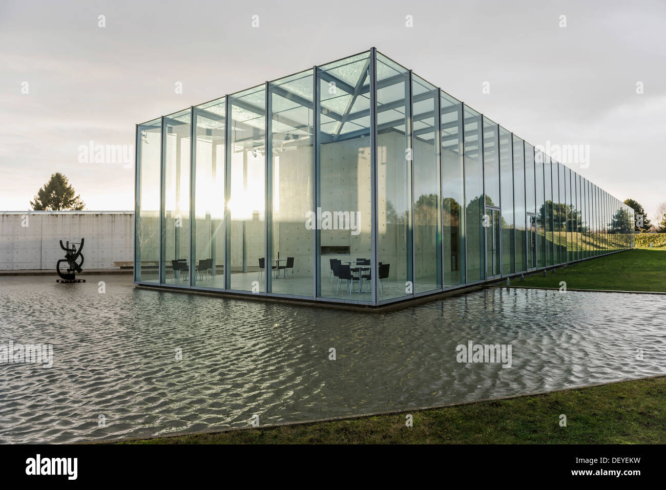 Architekt Neuss langen foundation kunstmuseum und stiftung auf dem gelände einer