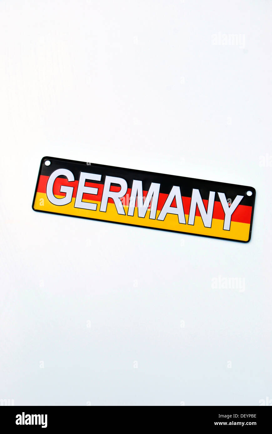 license plate of germany stockfotos license plate of germany bilder alamy. Black Bedroom Furniture Sets. Home Design Ideas