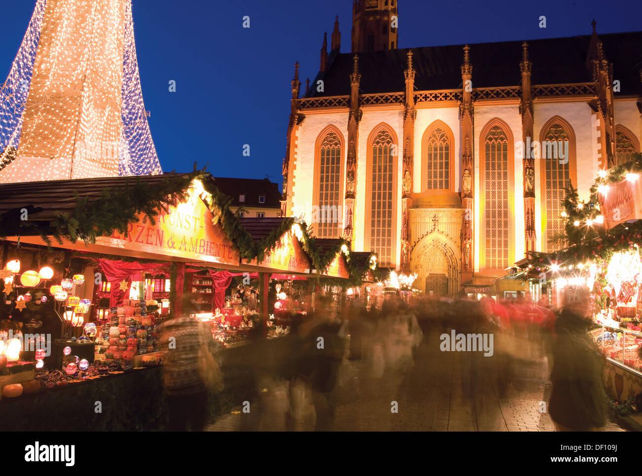 Weihnachtsmarkt Würzburg.Weihnachtsmarkt Würzburg Deutschland Stockfoto Bild 60873166 Alamy