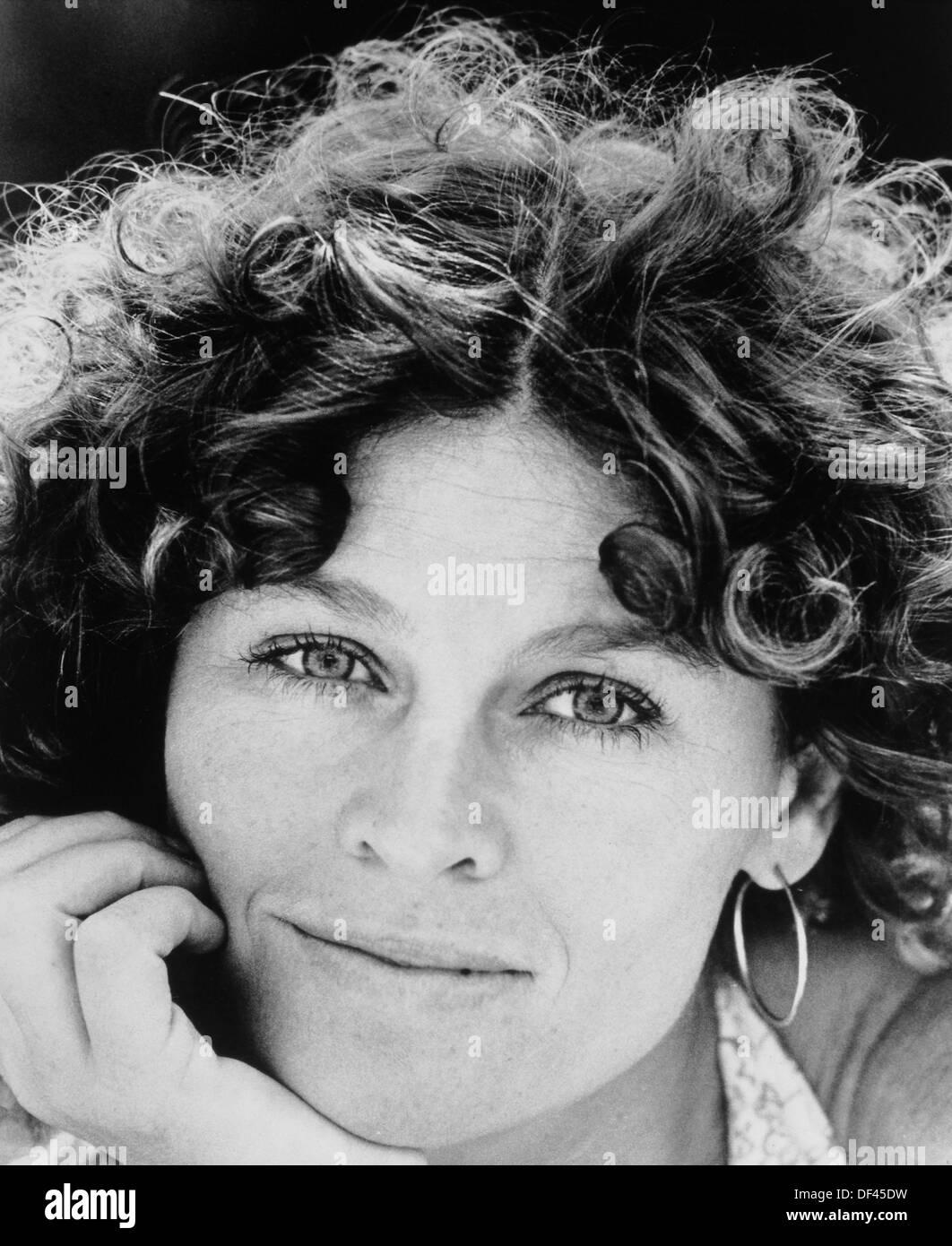 """Julie Christie, Werbung Portrait für den Film, """"Der Dämon Saatgut"""", MGM, 1977 Stockbild"""