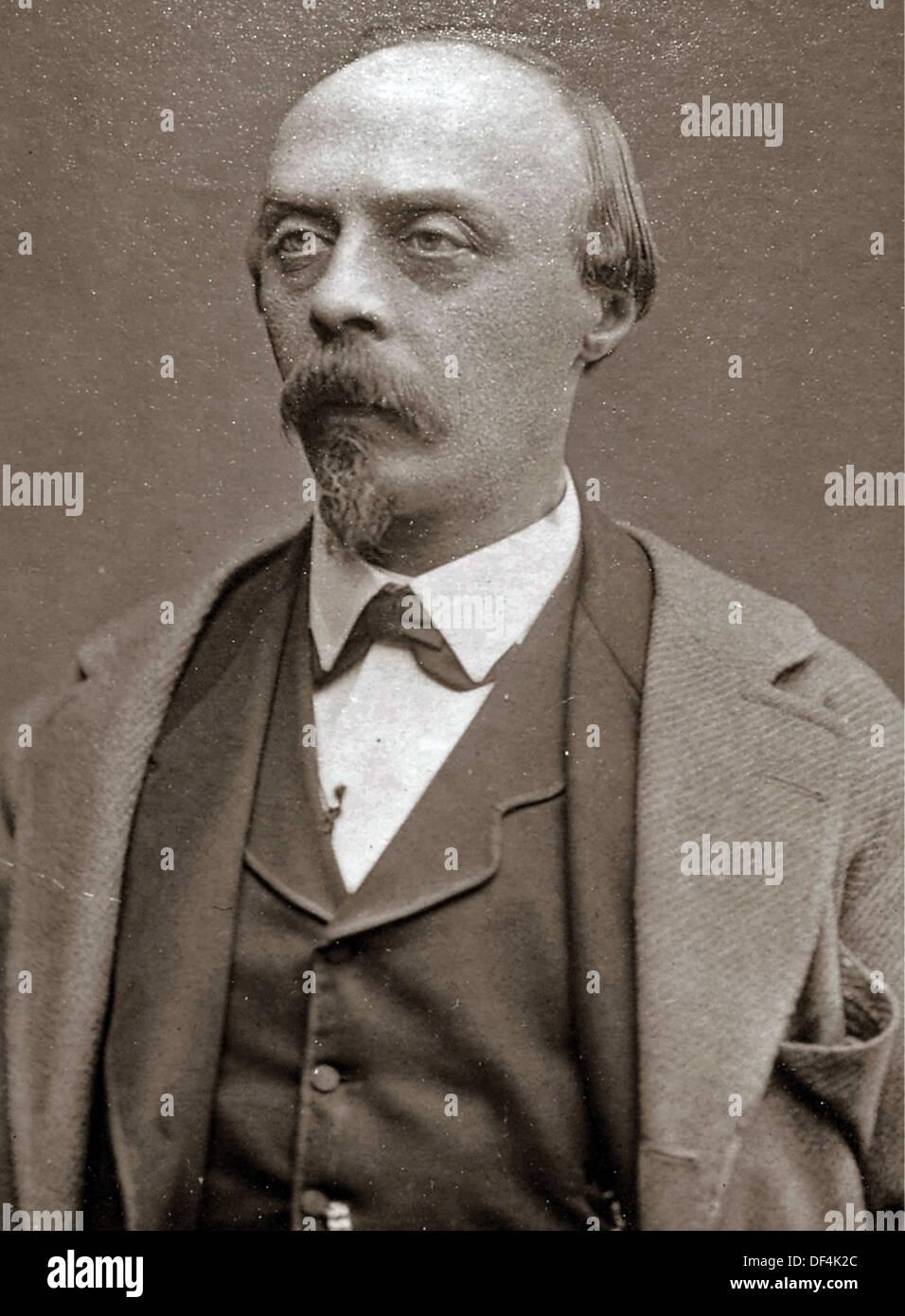 Hans von Bülow, deutscher Dirigent Stockbild