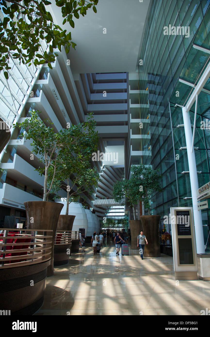 Marina Bay Sands Hotel innen Singapur Asien Bereich Gastfreundschaft ...