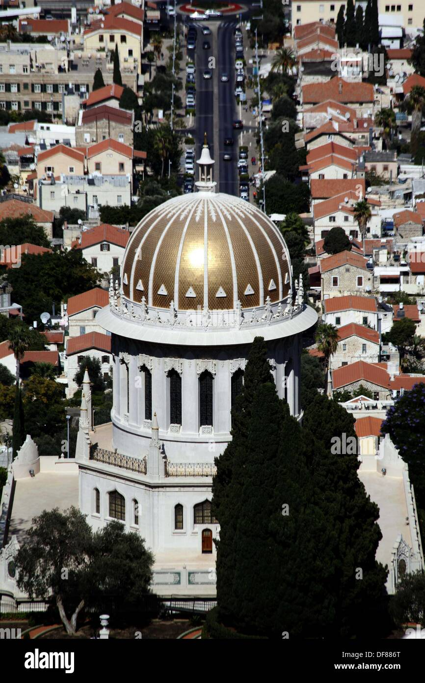 Haifa, Haifa, Palästina. 29. September 2013. Die Bahá \' í Schrein ...
