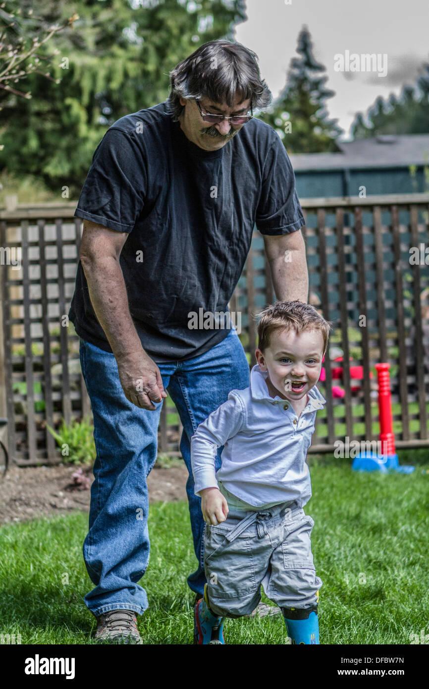 Spass mit opa