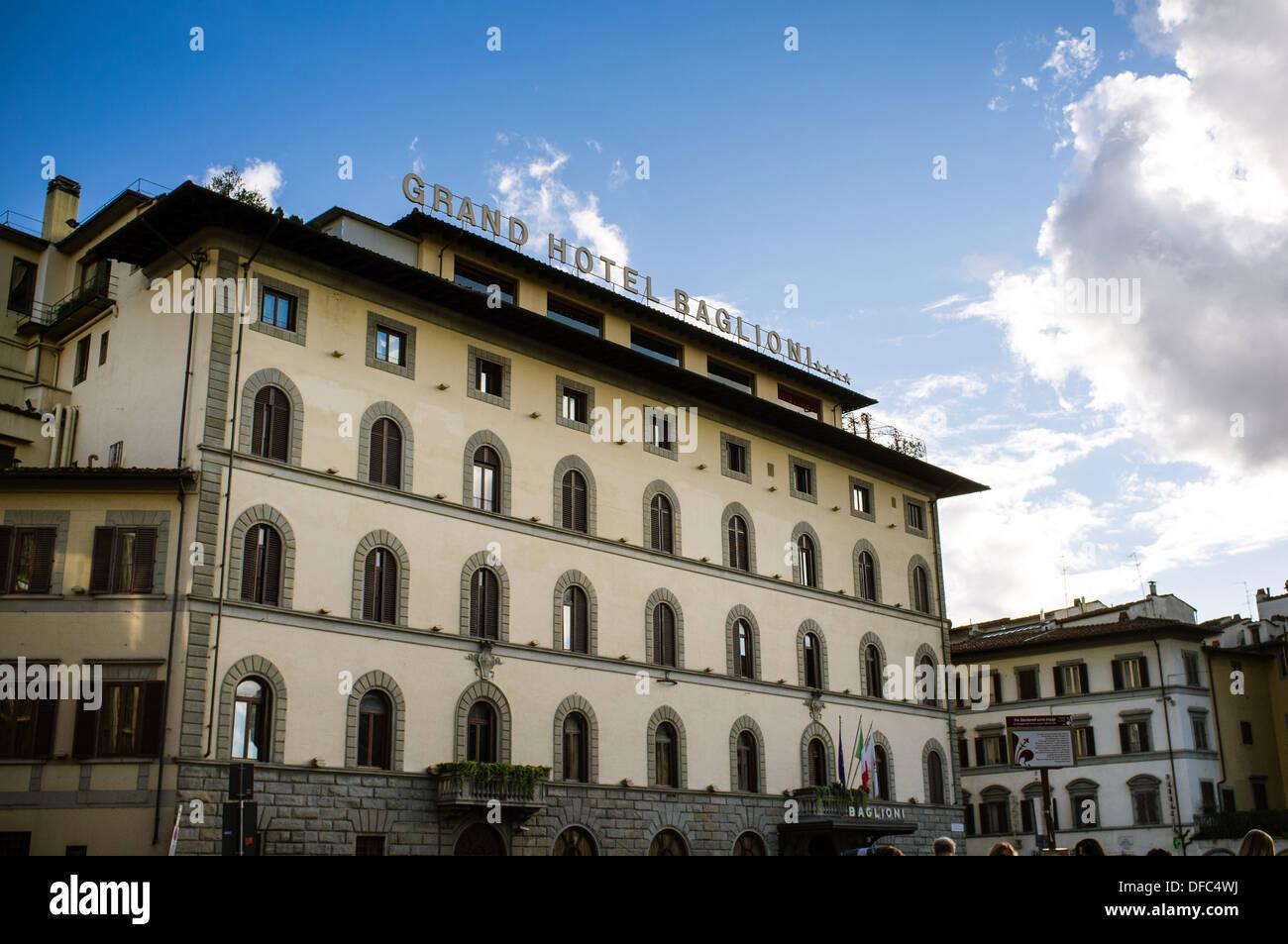 Grand Hotel Baglioni Florenz Italien Stockfoto Bild 61118222 Alamy