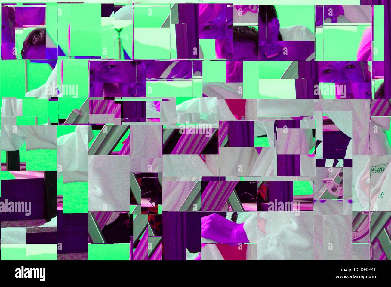 digitale Kunst Stockbild
