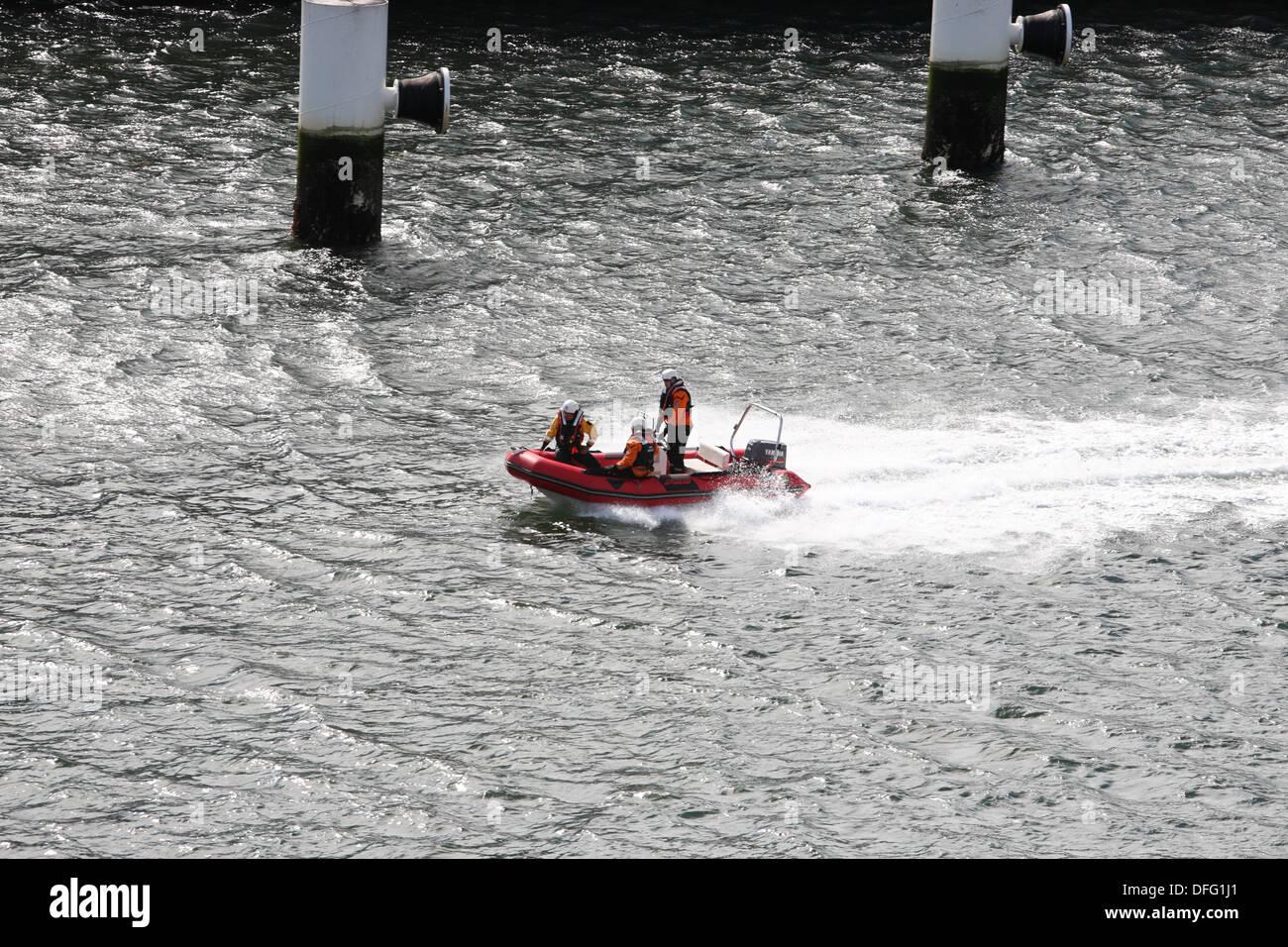 Fluss Liffey Dublin Irland Stockfoto