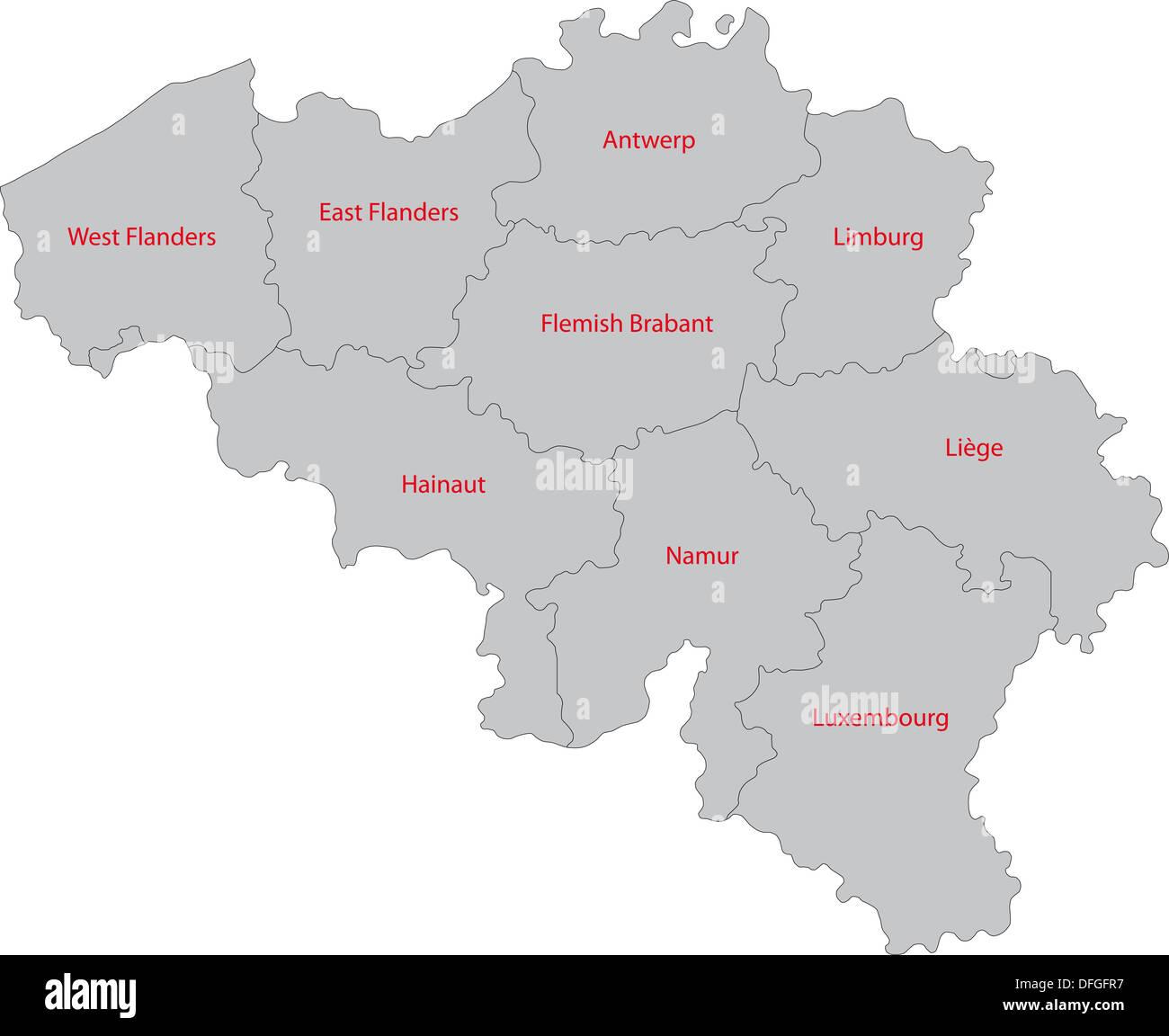 Belgische Niederlandische Grenze Stockfotos Belgische