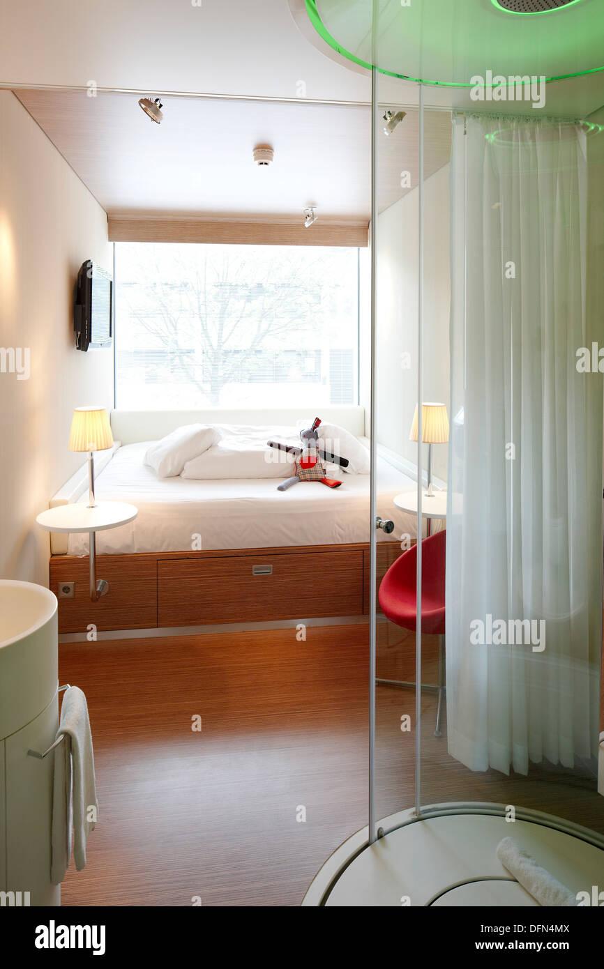 zimmer mit regen dusche citizen m hotel amsterdam niederlande - Hotel Amsterdam Dusche Im Zimmer